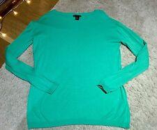 H&M Fine Knit Pastel Green Jumper, Size XS