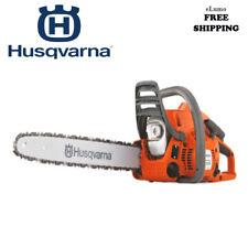 Petrol Chainsaw Husqvarna Tree Surgery Prune Cutter 2 Stroke Heavy Duty 36cm Bar