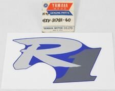 1 NOS Genuine Yamaha 2001 YZFR1 R1 Purple / Blue Graphic Decal Sticker OEM Part