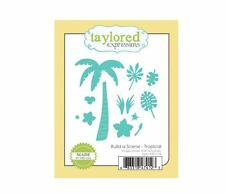 Taylored Expressions Cutting Die Set ~ BUILD A SCENE ~ TROPICAL Island  ~TE1119