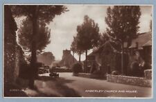 SUSSEX AMBERLEY CHURCH AND HOUSE - Unposted Vintage Postcard