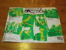 1988 Concerts in the Park Roy Orbinson Aerosmith Bob Dylan Judas Priest Poster