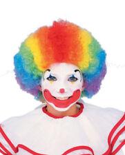 Child Multi-Color Clown Wig