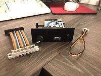 Tatung Einstein 256 Gotek Drive- OLED, Rotary encoder, Speaker with FlashFloppy