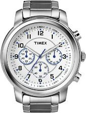 Timex Men's Watch Milan Chronograph t2n167 - Stainless Steel Bracelet