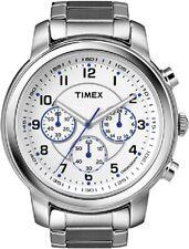 TIMEX Herrenuhr Milan Chronograph T2N167 - Edelstahl Armband