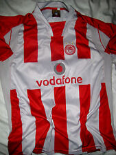 CLUB OLYMPIACOS UEFA SEWN EMBROIDERED PATCH #7 GALLETTI GREECE SOCCER JERSEY-M/L