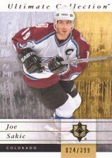 2011-12 Ultimate Collection Hockey #17 Joe Sakic /399 Colorado Avalanche