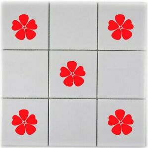 Poppies - Bathroom, Kitchen ,Tile, Home, Transfer Stickers, Chose Colour & Qty