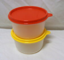 BNIP TUPPERWARE set of 2 ADULT SNACK BOWLS 450mls great adult size