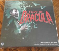 Fury of Dracula Third Edition- Board Game - Games Workshop - Sealed - New