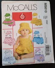 4f7c0b4fa McCall Infant s Mixed Lot Sewing Patterns