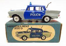METOSUL 25 Mercedes 200D Policia-Portugal Die Cast Raro en Caja 200 D policía