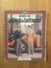 Simenon (Georges Sim) - Le Chinois de San Francisco - Editions Tallandier - TBE