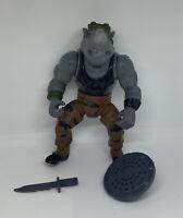 """Vintage 1988 TMNT Teenage Mutant Ninja Turtles ROCKSTEADY Action Figure 5"""""""