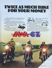 "Jawa CZ ""Range"" Motorcycle 1978 Magazine Advert #1830"