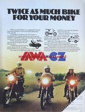 "Jawa CZ ""Range"" Motorcycle 1978 Magazine Advert #1830"
