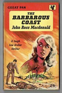 The Barbarous Coast - John Ross Macdonald Pan 1st Edition Paperback 1959