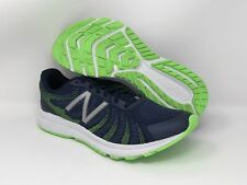 New Balance Men's RUSHV3 Running Shoe, Navy/Lime, 11 D US