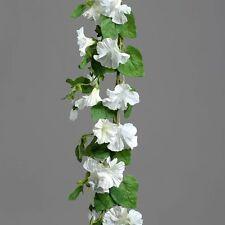 Petunie Petuniengirlande Girlande Seidenblume weiß creme 180 cm 42928-05 F87