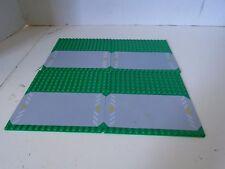 Lego Road Base Plates 16 x 16  Green Lot of 4 Building Platform Brick Triangle