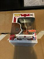 IN HAND * Funko Pop Michael Jordan Chicago Bulls #56 Target Con Exclusive