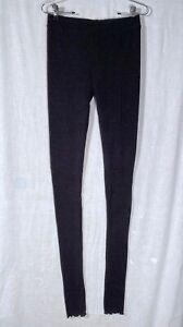 Intimately FREE PEOPLE Sweater Leggings Black - S