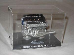 WILLIAMS RENAULT - FORMEL 1 MOTOR V 10 RS 03 1992 - METALL - FORMULE 1 MOTEUR