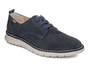 CALLAGHAN Malibu 47100 Loafers Shoes Casual Man Suede Blue