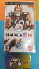 (D1) Madden NFL 12 (Sony PSP, 2011) New