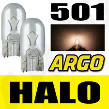 501 CLEAR HALOGEN T10 W5W 194 SIDELIGHT BULBS PEUGEOT 407 COUPE