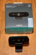 Logitech BRIO STREAM Webcam, 4K Ultra-HD, 1080p