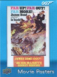 James Bond Villains & Henchmen Movie Posters Chase Card MP-27 On Her Majesty's