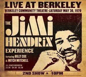 THE JIMI HENDRIX EXPERIENCE Live At Berkeley VINYL 2LP BRAND NEW