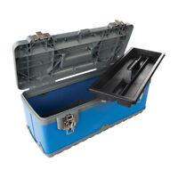 Silverline Grosse Profi Werkzeugkiste Hartplastik 580x220x280mm 533427