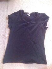 Hip Length Cotton Blend V Neck NEXT Tops & Shirts for Women