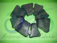 Yamaha xt550 xt600 xt 43f 34l 2kf 1vj ruckdämpfer caoutchouc nouveau jeu 4 pièces 4 piece