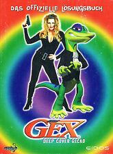 Offizielles Spieleberater Lösungsbuch DEUTSCH - GEX 3 Deep Cover Gecko - PS1