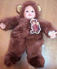 Anne Geddes Brown Bear Doll