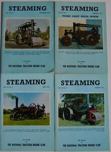 Steaming Magazine Volume 20 complete in 4 issues 1976 - 1977