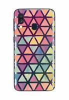 Samsung A40 - Coque gel souple solide  avec motifs de qualité ( Mosaïques )