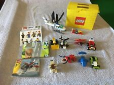 Various Lego Creator Vehicles With Lego City Sticker and Play Mat - Boxed