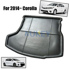Fit For 2014- Toyota Corolla Altis Boot Mat Rear Trunk Liner Cargo Floor Tray