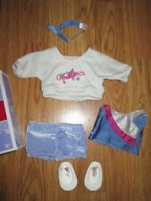 """Authentic 18"""" AMERICAN GIRL DOLL GYMNASTICS OUTFIT OUTFIT CLOTHES NEW"""