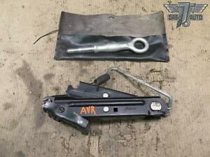 01-09 VOLVO V70 S60 EMERGENCY SPARE TIRE LIFT JACK W/ TOW HOOK 30647016 OEM