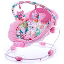 Babywippe Babyschaukel Tender mit Musik Vibration rosa Mädchen 2 Liegepositionen