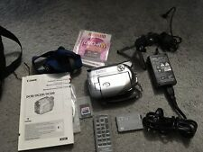 Canon Dvd Camcorder Dc230 2 Batteries, power adapter, & bag