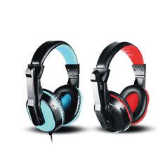Headband Headphone Earphone Music Noise Canceling USB Stereo Aduio Headset Phone