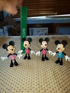 Mattel Disney Dress Up Minnie Mouse Snap On Dresses Shoes Mirror 36 pcs