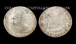 8 Réales 1808 Lima JP, Pérou. Carolus IV°. Empire Espagnole. Argent